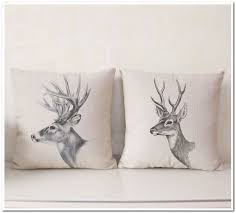 Deer Decor For Home by Wild Animal Pillows Pillow Suggestions With More Than 1500