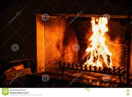 fire in fireplace royalty free stock photography image 21408747