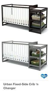 Changing Table Side Organizer Side Table Side Changing Table Crib Baby 4 In 1 Fixed