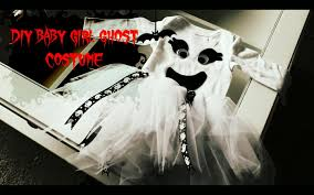 Girls Ghost Halloween Costume Diy Baby Ghost Halloween Costume