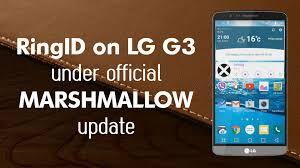 ringid lg g3 marshmallow stock rom youtube