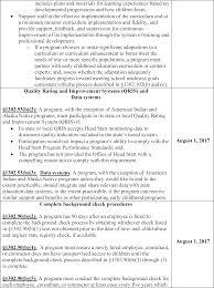 resume format for engineering students ecers assessment form acf frdoc 0001 0068 head start performance standards federal