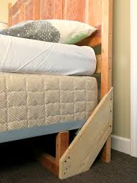 Side Bed Frame How To Build A Sturdy Freestanding Bed Frame Headboard Solves