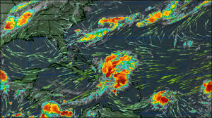Caribbean Weather Map by Tropical Storm Harvey Forms East Of Caribbean 13newsnow Com