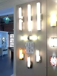 Contemporary Bathroom Vanity Light Fixtures Lighting Housetohome Co