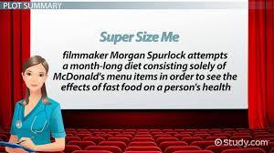 super size me movie facts u0026 summary video u0026 lesson transcript