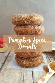 pumpkin spice donuts gluten free balancing motherhood