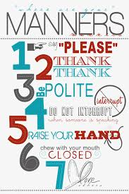 Rules Of Civility Table Etiquette Guide To Informal by Manners Quotes And Pictures Good Manners Pledge And Manners Club