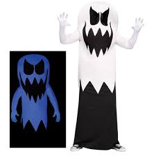 Glow Dark Halloween Costumes Floating Ghost Halloween Costume U2013 White Floating Ghost
