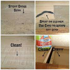 clean polish wood kitchen cabinets how to before chalk painting