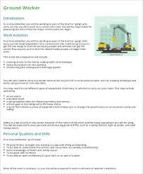 construction worker description sle 7 exles in word pdf