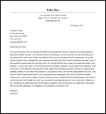 professional instructor cover letter sample u0026 writing guide