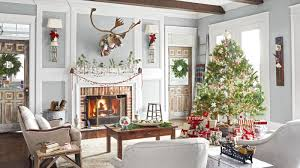 Living Home Decor Ideas by 26 Best Christmas Home Tours Houses Decorated For Christmas