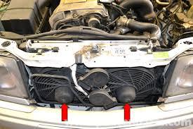 vw center mount fan shroud mercedes benz w124 auxiliary fan replacement 1986 1995 e class