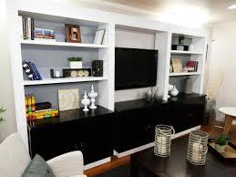 Bookcase In Wall Photos Miera Melba Interior Design Hgtv