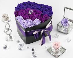 enchanted rose that lasts a year enchanted rose box etsy