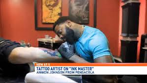 pensacola tattoo artist u0027s talent persistence lands him on
