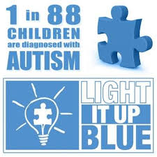 autism speaks light it up blue 1 in 88 children are diagnosed with autism light it up blue world