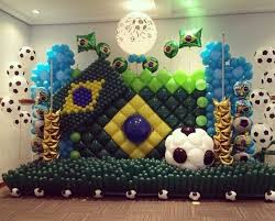 Sports Decorations 48 Best Banderas En Globos Images On Pinterest Balloon