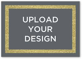 upload your own design 5x7 greeting card thank you cards