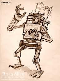 robots archives flyland designs freelance illustration and