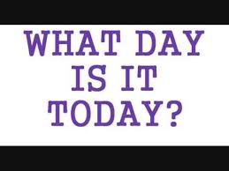 what day is it today song