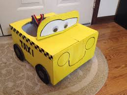 halloween costumes car quick and easy last minute taxi costume costumes cardboard car
