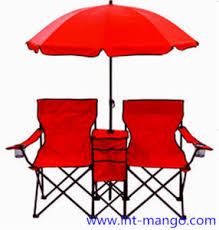 Double Seat Folding Chair China Double Seats Folding Beach Chair With Umbrella Mw11008a