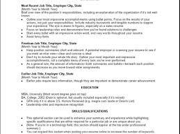 police chief resume resume ideas