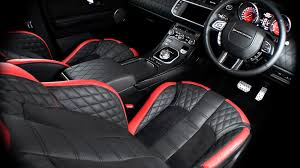 White Range Rover With Red Interior Land Rover Range Rover Evoque 2 2 Sd4 5dr Ground Effect Edition By