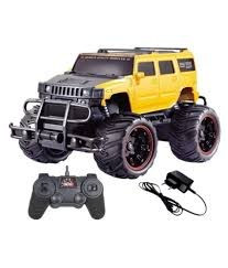 remote control bigfoot monster truck dhawani yellow remote control car remote control toys