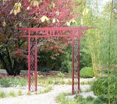 japanese rose arch torii fall garden home design ideas arches