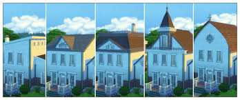 house building tips the sims 4 building tips one house six rooftops sims community