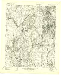 New Mexico Topographic Map by Washington County Maps And Charts