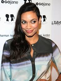 the half shaved haircut rosario dawson takes the plunge