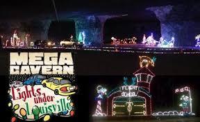louisville mega cavern christmas lights 40 off light under louisville louisville mega cavern groupon