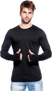 maniac solid s neck black t shirt buy black maniac