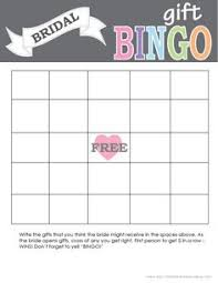 bridal shower gift bingo bridal shower sign bridal showers