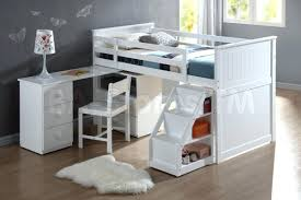 Bunk Bed With Desk And Stairs Desk 108 Modern Open Stair With Internal Workspace Open Stair