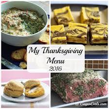 my thanksgiving menu recipe roundup gagen