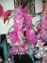 pink trees trendy tree decor