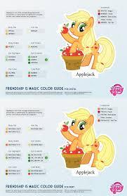Best Color Hex Codes by Applejack Color Guide 2 0 Updated By Kefkafloyd On Deviantart