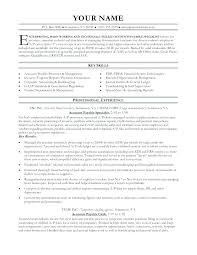 accounts payable resume format accounts receivable assistant resume tomoney info