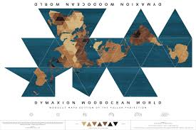 Accurate World Map by Celebrating Unusual Maps The Winning Dymaxion Redux And Cahill U0027s