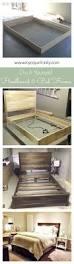 Building Platform Bed 18 Gorgeous Diy Bed Frames Bed Frames Platform Beds And Building
