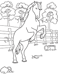 coloring book horse kids coloring