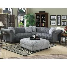 tufted sofa sectional and dark grey sectional couches 32 tufted