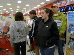 target black friday boos black friday shoppers flock to target u0027s midnight sale gig harbor