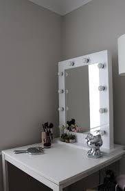 makeup vanity set with lighted mirror home vanity decoration