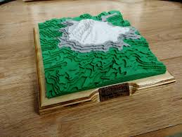 Topographic Map Of Washington by Oc I Created A 3d Topographic Map Of Mt Rainier Washington
